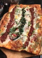 Veggie Detroit Pizza