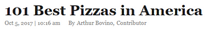 101 Best Pizzas in America