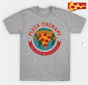 Official Pizza Therapy T-shirt