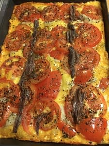 Anchovy Detroit Pizza