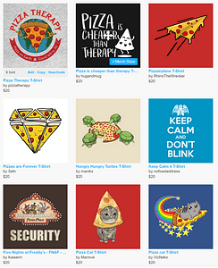 Pizza Therapy T shirts Collection